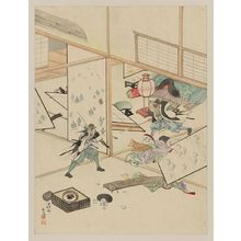 無款: [Jūichidanme - act eleven of the Chūshingura - searching the house] - アメリカ議会図書館