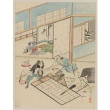 Unknown: [Jūichidanme - act eleven of the Chūshingura - searching the house] - Library of Congress