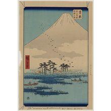 歌川広重: Yoshiwara - アメリカ議会図書館