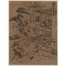 葛飾北斎: Act eleven [of the Kanadehon Chūshingura]. - アメリカ議会図書館