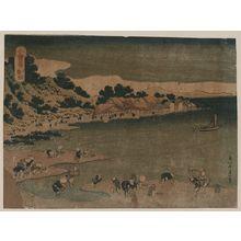 Katsushika Hokusai: The coast of Nobuto in Shimōsa. - Library of Congress
