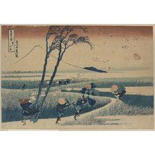 葛飾北斎: Sunshū ejiri - アメリカ議会図書館