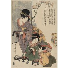 Kitagawa Utamaro: Girl's festival (hinamatsuri). - Library of Congress