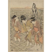 Kitagawa Utamaro: Futamigaura - Library of Congress