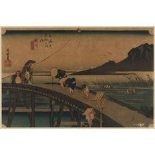 Utagawa Hiroshige: Kakegawa - Library of Congress