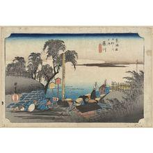 歌川広重: Fujikawa - アメリカ議会図書館