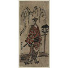 Torii Kiyomitsu: The actor Bandō Hikosaburō. - Library of Congress