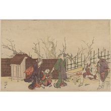 Katsukawa Shunsen: A villa in Kamedo. - Library of Congress