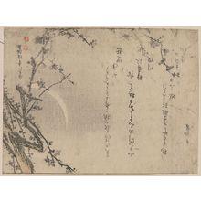 窪俊満: Plum blossoms of the third day of the new year. - アメリカ議会図書館