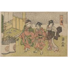 Utagawa Kunimaru: Eighth month. - アメリカ議会図書館
