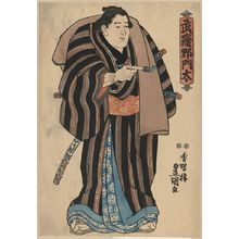 Utagawa Toyokuni I: The sumo wrestler Musashino Monta. - Library of Congress