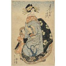 菊川英山: The courtesan Yachiyo of Matsuba-ya. - アメリカ議会図書館