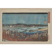 Utagawa Hiroshige: Fireworks at Ryōgoku. - Library of Congress