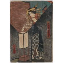 Utagawa Toyokuni I: Lantern. - Library of Congress