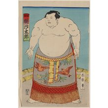 Unknown: The sumo wrestler Asashio Taro. - Library of Congress