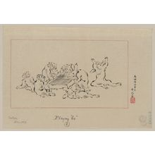 Tsukioka Settei: Playing go - Library of Congress