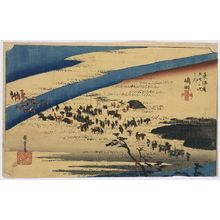 Utagawa Hiroshige: Shimada - Library of Congress