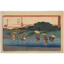 Utagawa Hiroshige: Fujieda - Library of Congress
