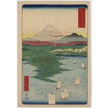 歌川広重: Noge, Yokohama in Musashi Province. - アメリカ議会図書館