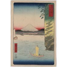 歌川広重: Honmoku no hana in Musashi Province. - アメリカ議会図書館