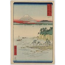 Utagawa Hiroshige: Sea at Miura in Sōshū Province. - Library of Congress