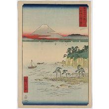 歌川広重: Sea at Miura in Sōshū Province. - アメリカ議会図書館