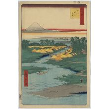 Utagawa Hiroshige: Horie and Nekozane. - Library of Congress