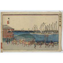 Utagawa Hiroshige: View of Takanawa. - Library of Congress