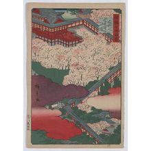 歌川広重: Hasedera in Yamato Province. - アメリカ議会図書館