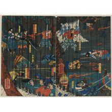Utagawa Yoshikazu: Scene from a Soga play. - Library of Congress