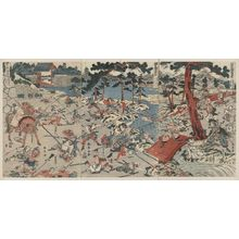 勝川春亭: The Joruri and Kabuki play,