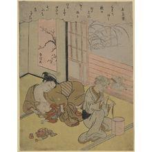 鈴木春信: Taira no Kanemori - アメリカ議会図書館