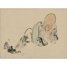 Shibata Zeshin: Fukurokuju - Library of Congress