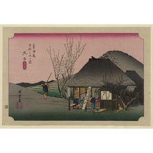 Utagawa Hiroshige: Mariko - Library of Congress