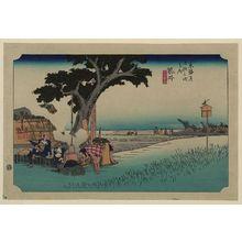 Utagawa Hiroshige: Fukuroi - Library of Congress