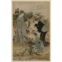 Kubo Shunman: Bushclover at Tamagawa. - Library of Congress