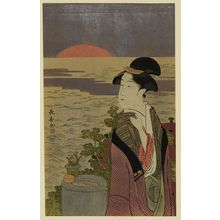 Eishosai Choki: First sunrise. - Library of Congress