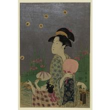 Eishosai Choki: Fireflies. - Library of Congress
