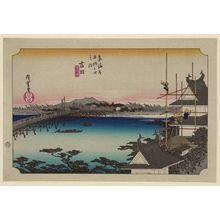 歌川広重: Yoshida - アメリカ議会図書館
