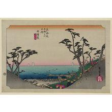 歌川広重: Shirasuka - アメリカ議会図書館