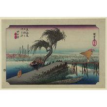 Utagawa Hiroshige: Yokkaichi - Library of Congress