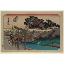歌川広重: Fujisawa - アメリカ議会図書館