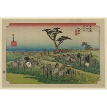 歌川広重: Chiryū - アメリカ議会図書館