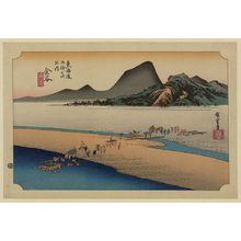 Utagawa Hiroshige: Kanaya - Library of Congress
