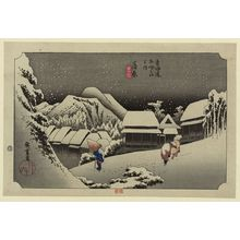 Utagawa Hiroshige: Kanbara [2nd edition] - Library of Congress