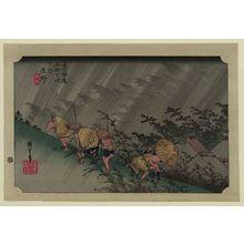 Utagawa Hiroshige: Shōno - Library of Congress