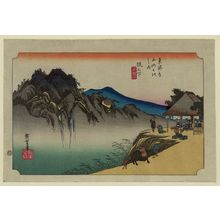 Utagawa Hiroshige: Sakanoshita - Library of Congress