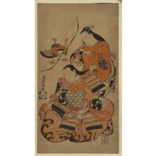 Torii Kiyomasu I: [Preparing for the first battle] - Library of Congress