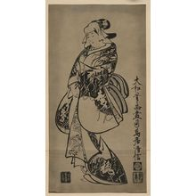 Torii Kiyonobu I: [A popular beauty] - Library of Congress