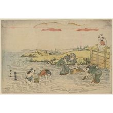 Katsukawa Shunsen: Fishing. - Library of Congress